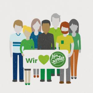 Eröffnungsfeier WirGarten Open Social Franchise Netzwerk